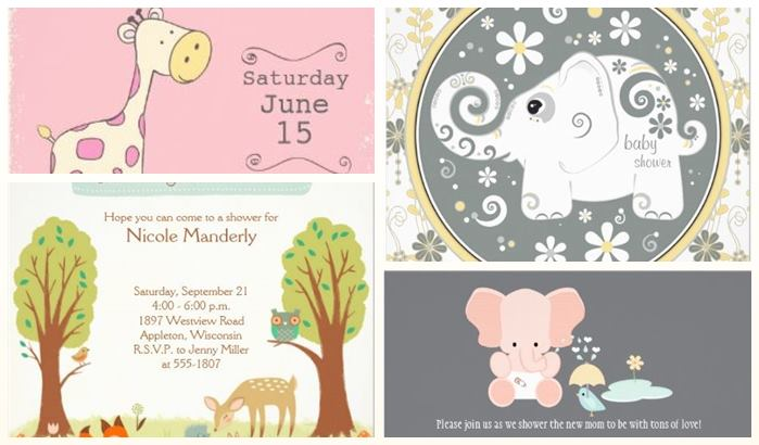 Animal baby shower invitations diabetesmangfo cute animals baby shower invitations partyinvitecards the baby shower filmwisefo Image collections