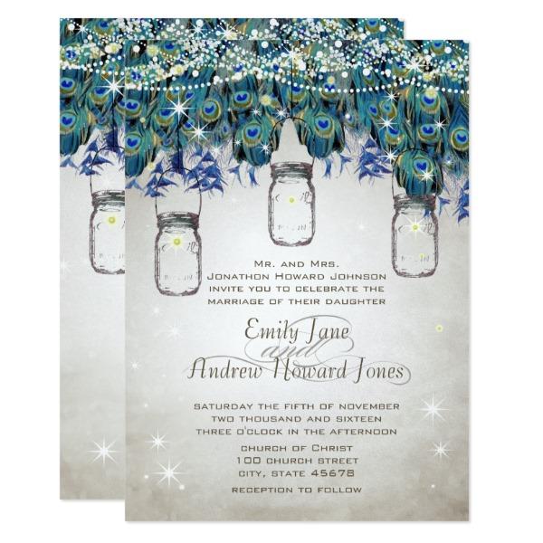 boho_mason_jar_navy_turquoise_peacock_card