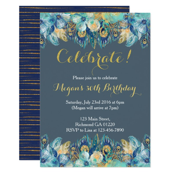 boho_peacock_feather_gold_and_navy_invitation