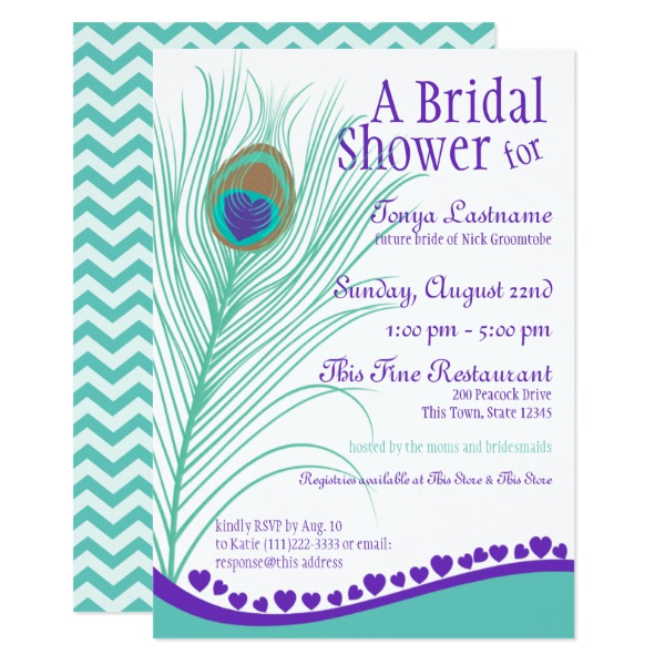 sweetheart_peacock_feather_bridal_shower_card