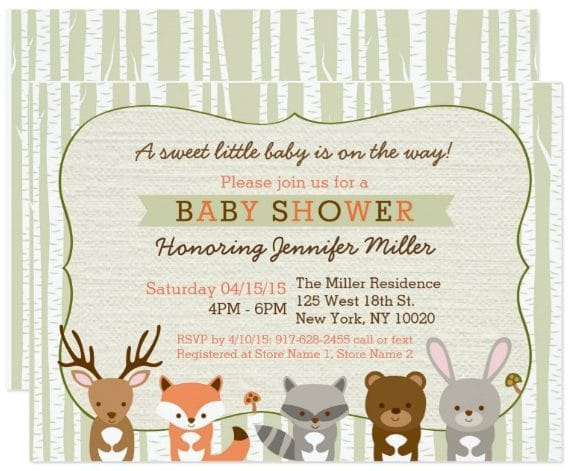 woodland_forest_animal_baby_shower_card