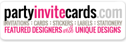 find awesome customizable invites and cards at partyinvitecards