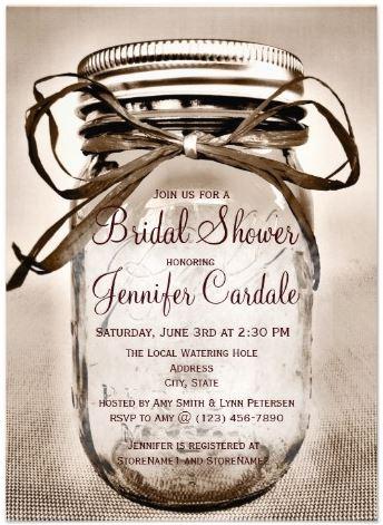 country_mason_jar_rustic_bridal_shower_invitations