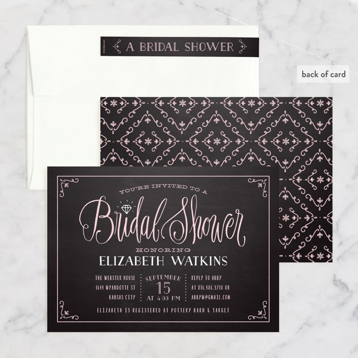 diamond-chalkboard-bridal-shower-invitations-set