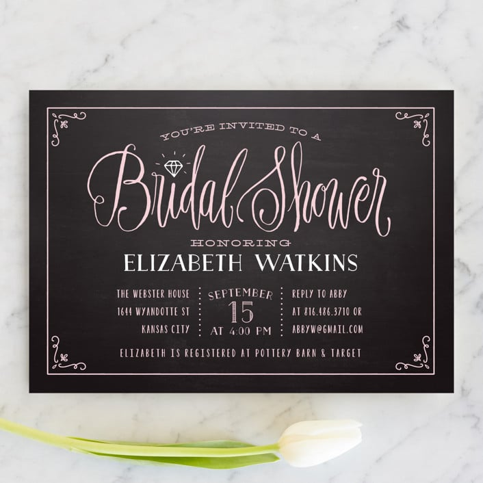 diamond-chalkboard-bridal-shower-invitations