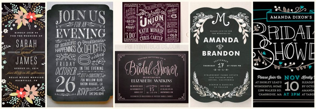 Chalkboard designs collection ⋆ partyinvitecards | the best ...