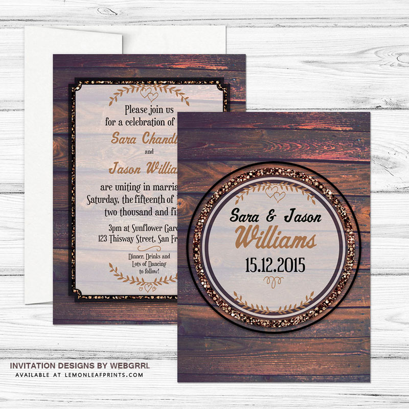 1-WoodTimber-5x7-WEDDING-invite-mock800