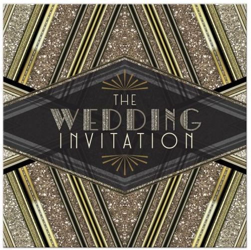 art-deco-black-gold-glitter-wedding-invitation