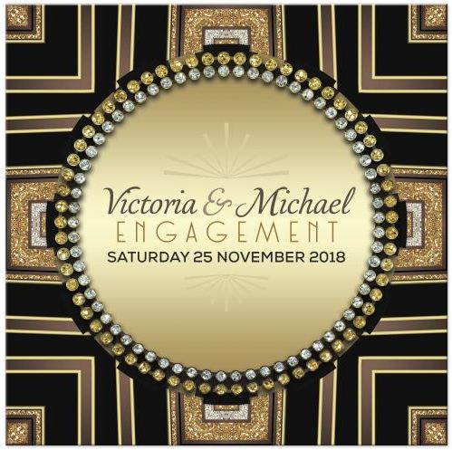 art-deco-gold-circle-gems-wedding-engagement-invitation