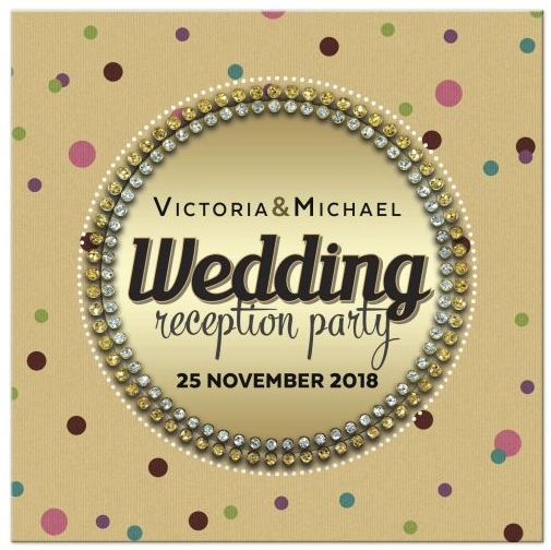 polka-dot-gem-surprise-wedding-reception