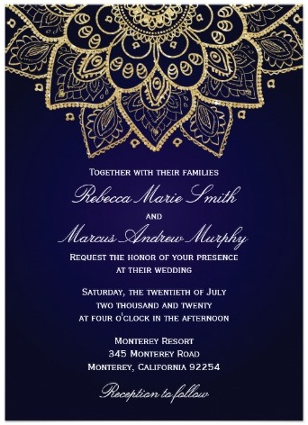 Elegant Gold Indian Invitation Ganesha Save The Date India Elephant Wedding Invite Saathi 311 Updo Bride Will You Be My Bridesmaid Card
