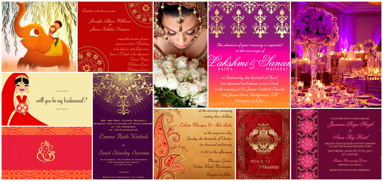Hindu Indian Wedding Invitations | Eastern Fusion Designs