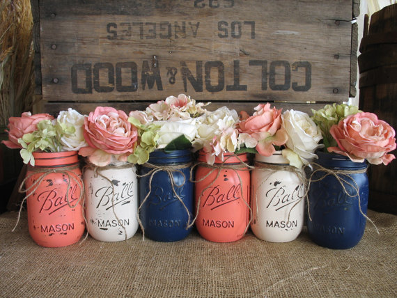 6 Pint Mason Jars, Ball jars