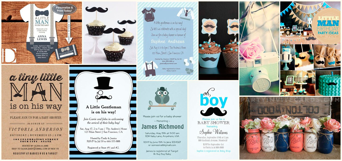 Hipster themed party ideas and invitations