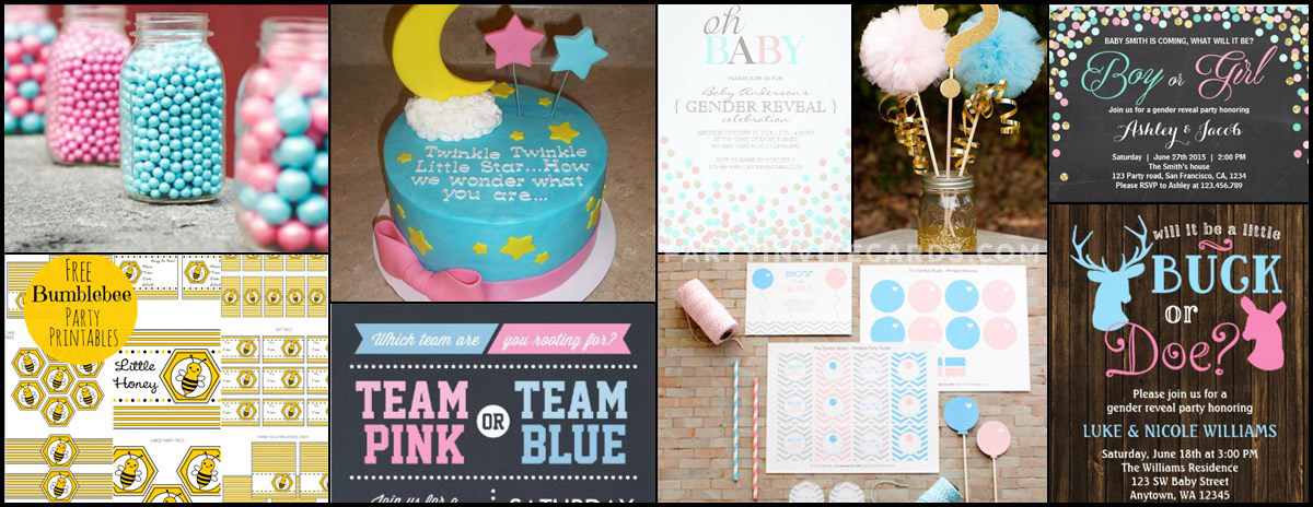 Baby Gender Reveal Party invitations and party ideas – Invitations for Gender Reveal Party