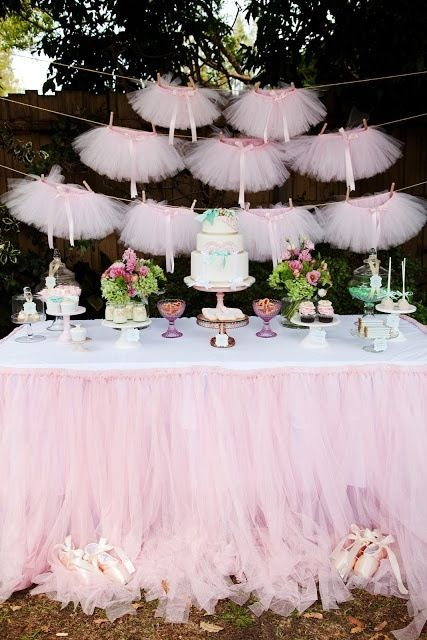 Baby Girl Ballerina Tutu Invitations Party Ideas