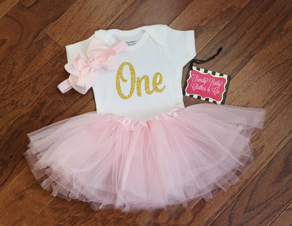 Let your Princess celebrate her Birthday in this adorable 100% Cotton Gerber Brand Onesie® !
