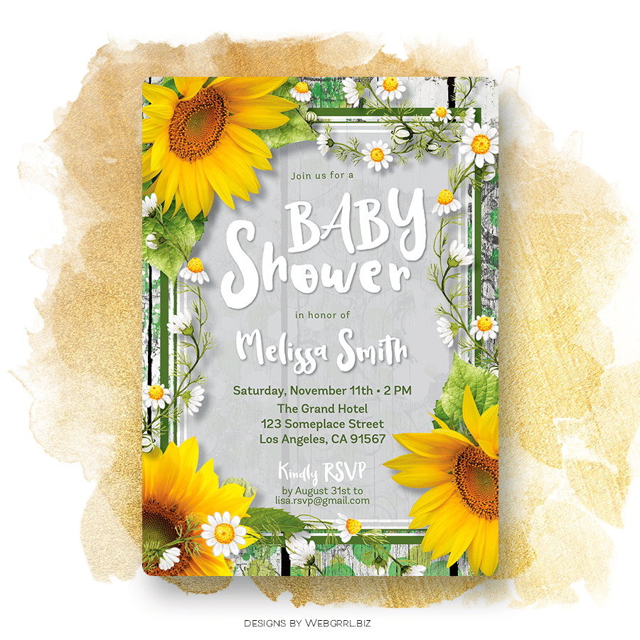 Sunflower-Urban-Rustic-BabyShower-Invitation-A7-MU900