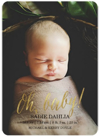 oh_baby_gold_faux_foil_birth_announcement