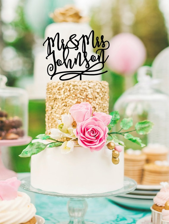 wedding-cake-topper-mrmrs-ThePinkOwlGifts