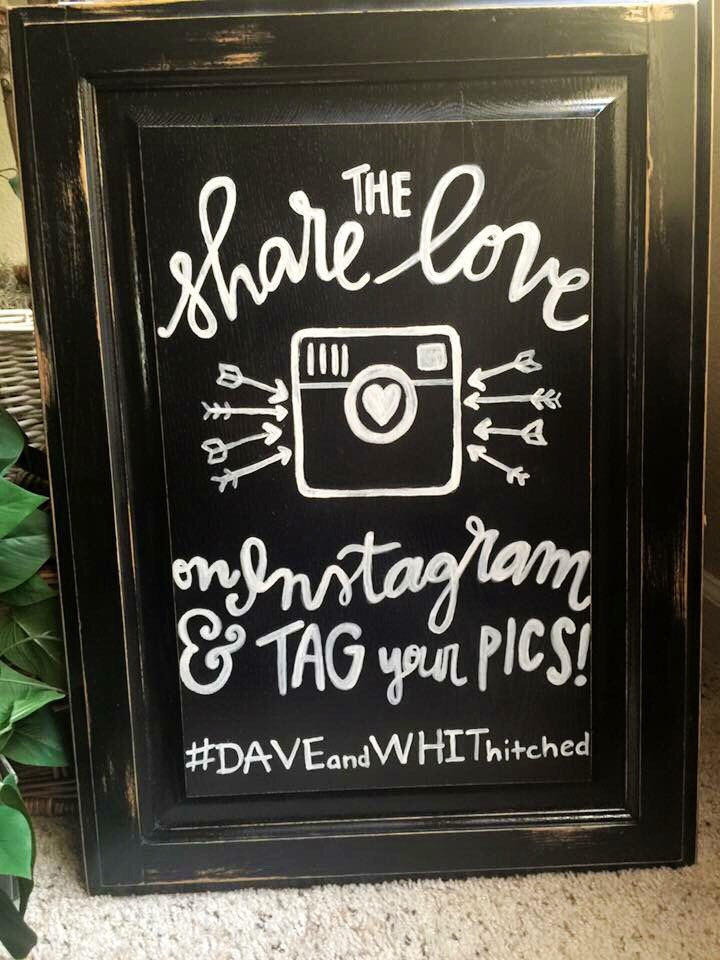 wedding-sign-share-the-love-instagram