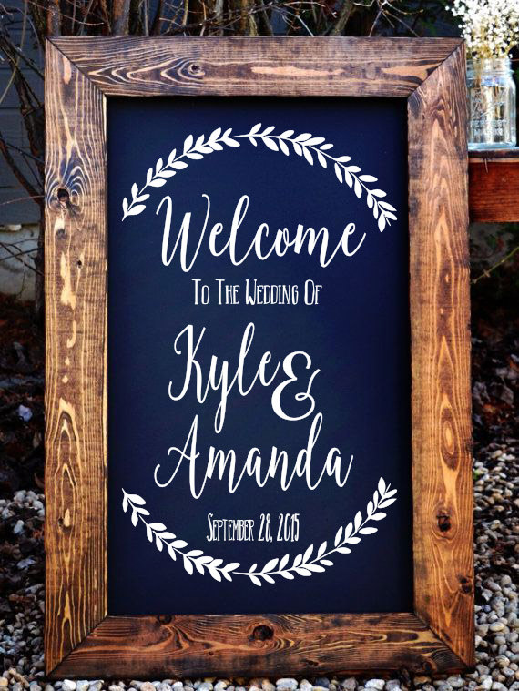 Wedding Signs Amp Decorations ⋆ Partyinvitecards The Best