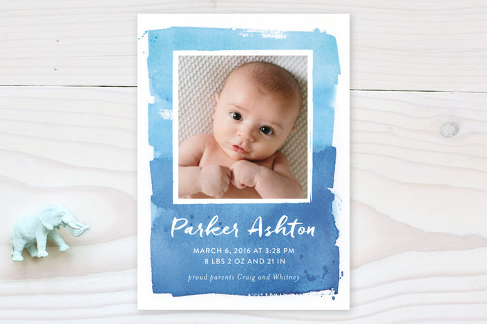 blended-frame-birth-announcements