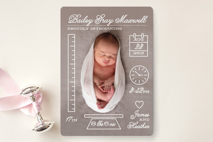 petite-measurements-birth-announcements