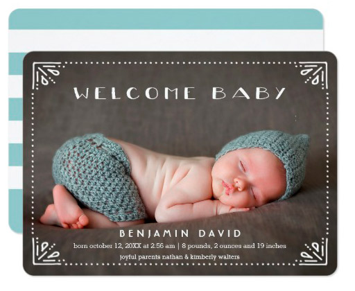 welcome_baby_sweetly_framed_birth_announcement