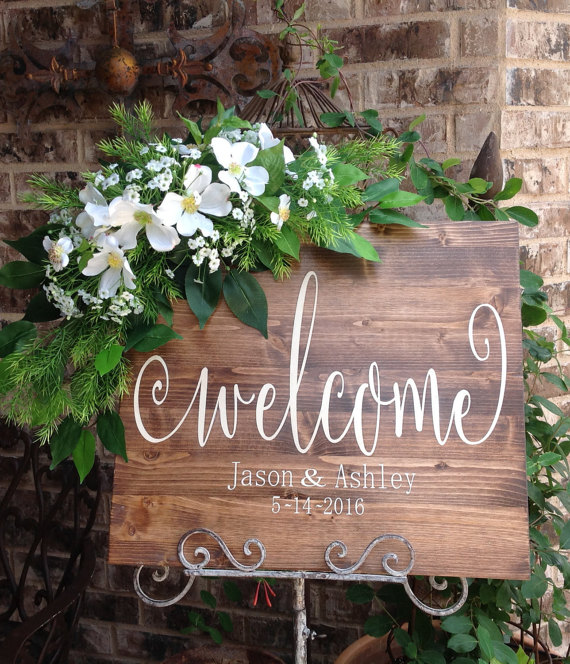 Wedding Welcome Sign, Wedding Signs, Welcome Wedding Sign, Wedding Signage