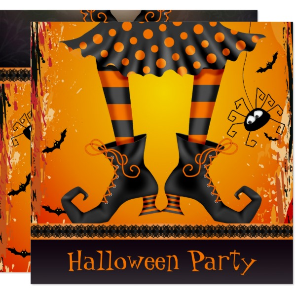 Fun Scary & Unique Halloween Invitations ...
