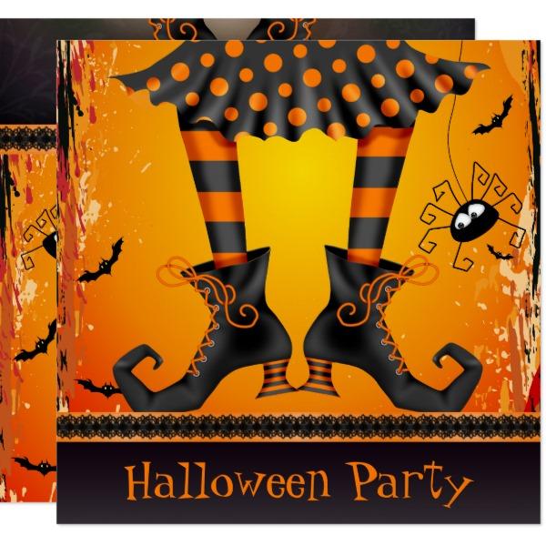 Fun Scary & Unique Halloween Invitations ...