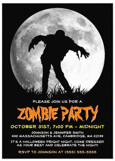 happy_halloween_zombie_rises_apocalypse_party_card