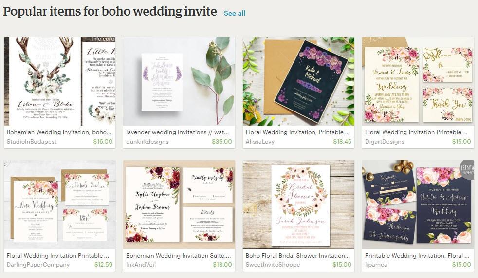 Bohemian Boho Wedding