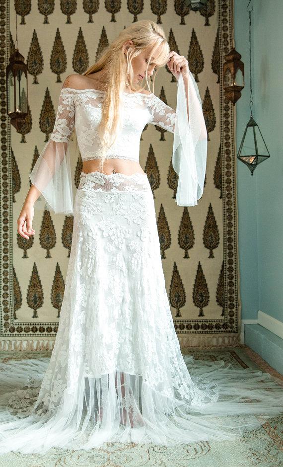 Bohemian Boho Wedding dress
