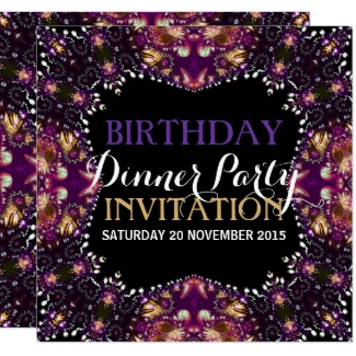 purple_batik_bohemian_birthday_dinner_party_invite