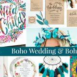 Perfect Wedding & Baby Boho Party Ideas