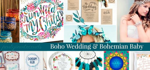 Perfect Wedding & Baby Boho Party Ideas