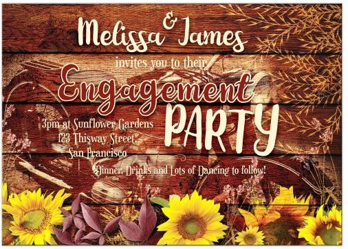rustic-sunflowers-vintage-motorcycle-engagement-save-the-date