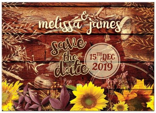 rustic-sunflowers-vintage-motorcycle-engagement-save-the-date2