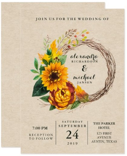 rustic_kraft_look_with_sunflower_wreath_wedding_card