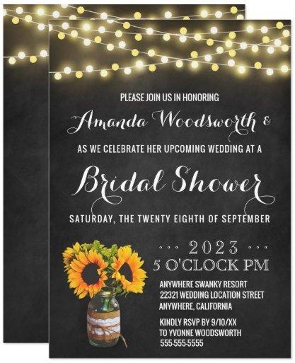 sunflower_chalkboard_bridal_shower_invitations