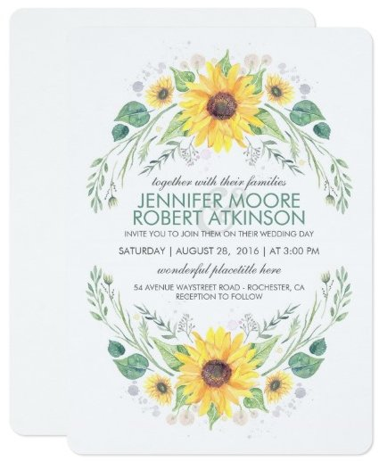 sunflowers_rustic_country_wedding_card