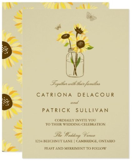 vintage_sunflowers_on_mason_jar_wedding_invitation