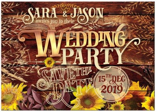 woodgrain-vintage-motorbike-rustic-sunflowers-wedding-party