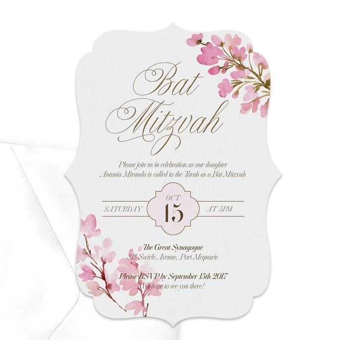 pink-floral-modern-bat-mitzvah-invitation-etsy