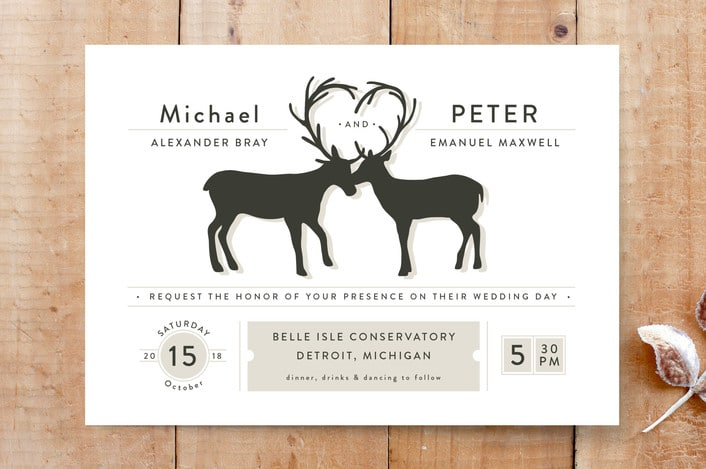 antler-fancy-One-print-it-yourself-wedding-invitations
