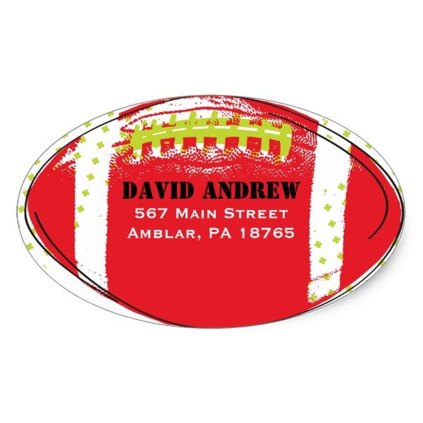 retro_football_themed_bar_bat_mitzvah_sticker_seal