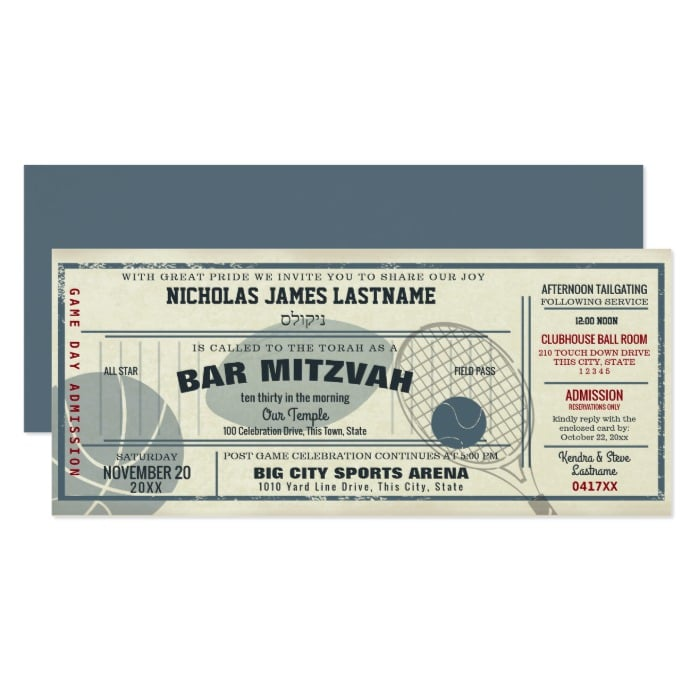 vintage_sport_pass_bar_mitzvah_invitation